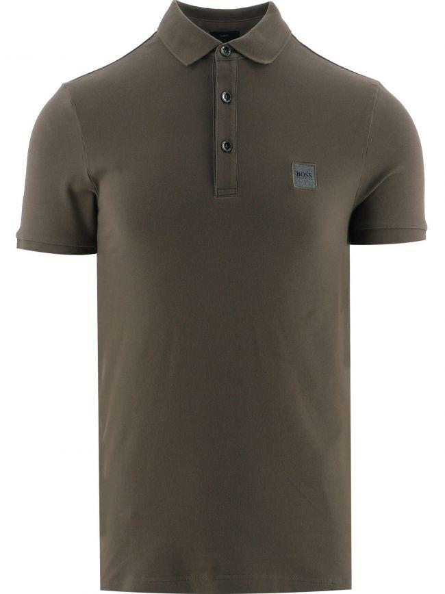 Khaki Passenger Polo Shirt