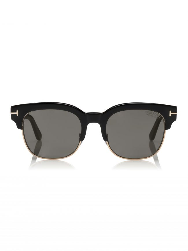 Black Polarised Harry Sunglasses