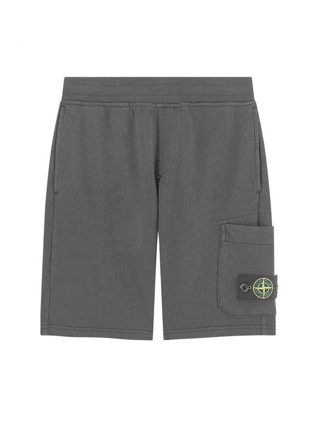 Smoke Grey Jersey Short