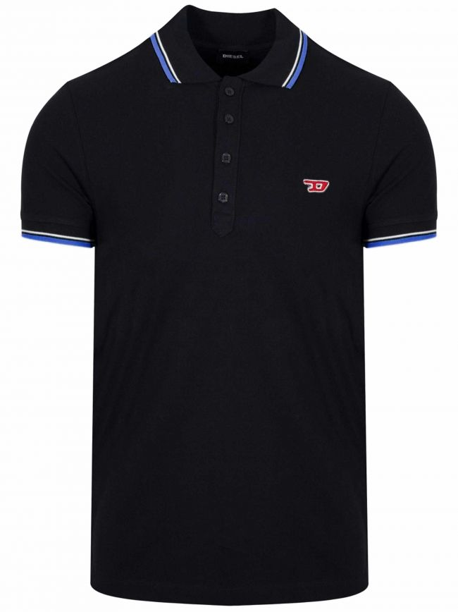 Black T-Randy New Polo Shirt