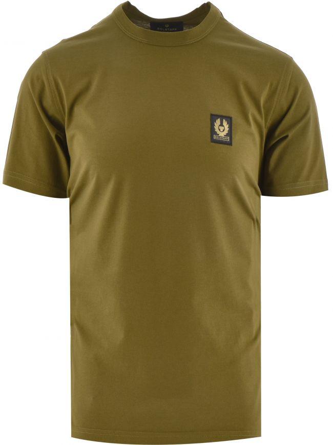 Khaki Belstaff Short Sleeved T Shirt