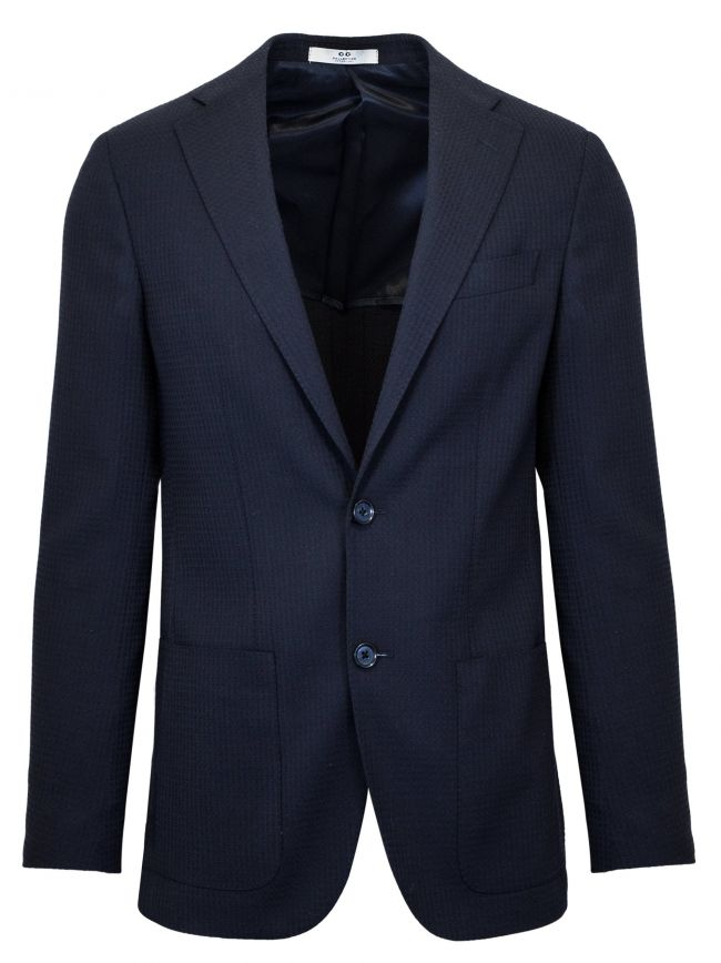 2-Button Navy Blue Blazer
