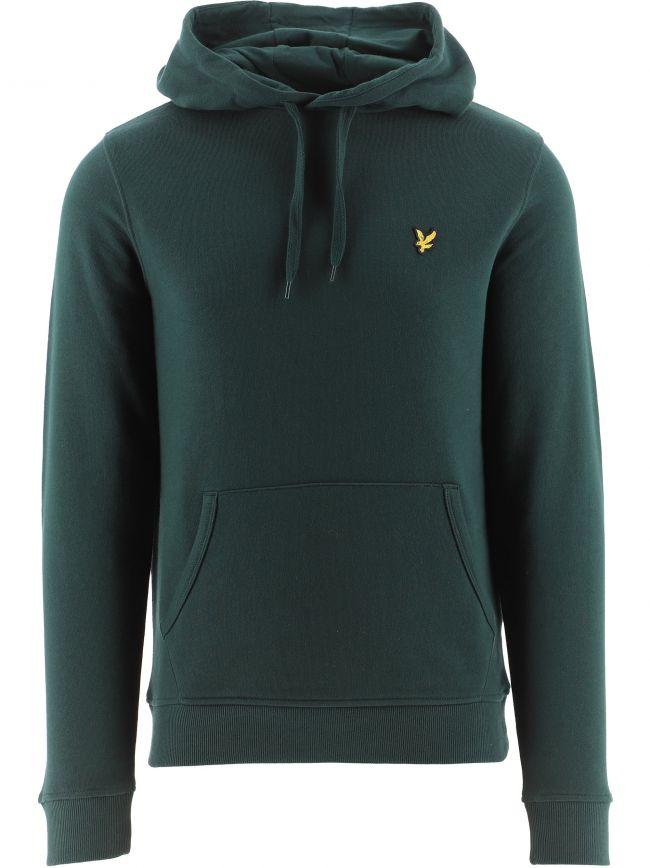 Dark Green Pullover Hoodie