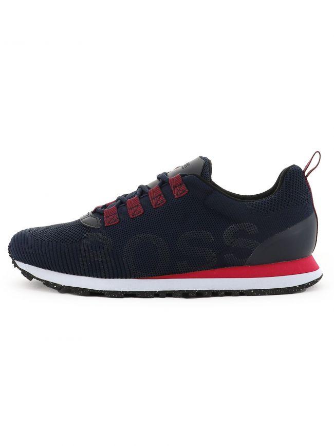 Blue Knitted Parkour Runn Sneaker