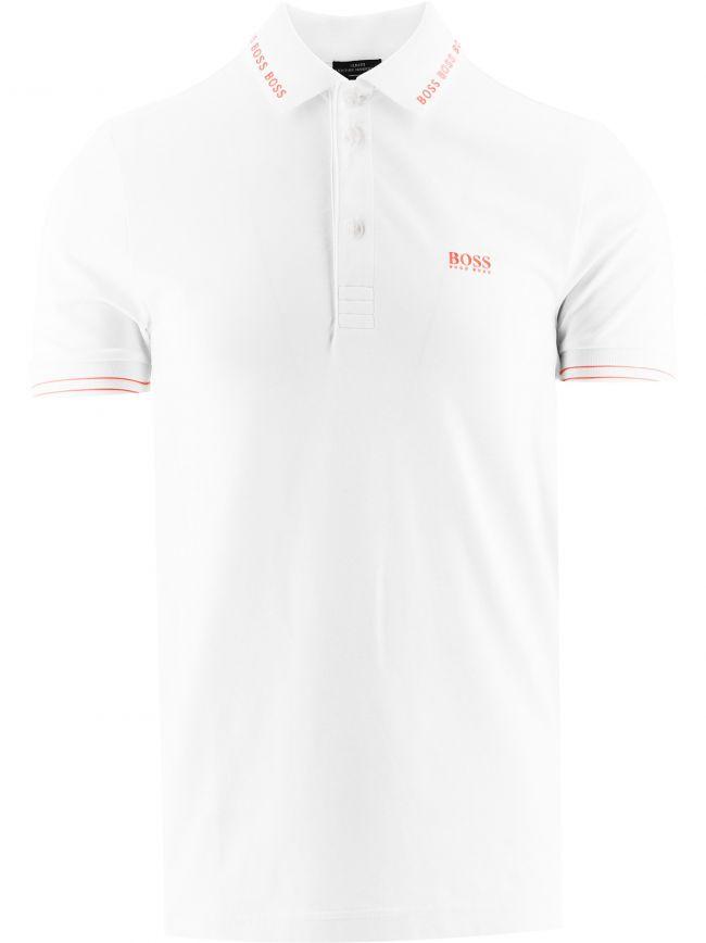 White Paule Slim Fit Polo Shirt