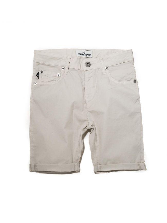 Cream Bermuda Short