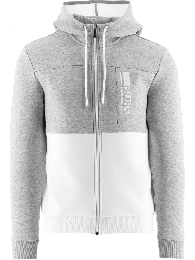 Grey Hooded Saggy 1 Sweatshirt
