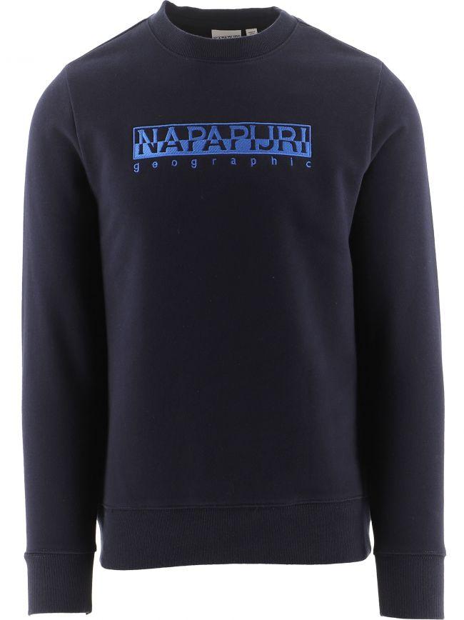Navy Berber Sweatshirt