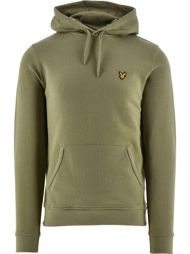 Khaki Pullover Hoodie