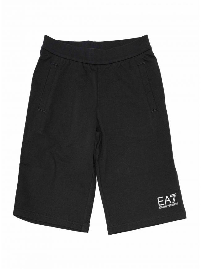 Black Logo Shorts