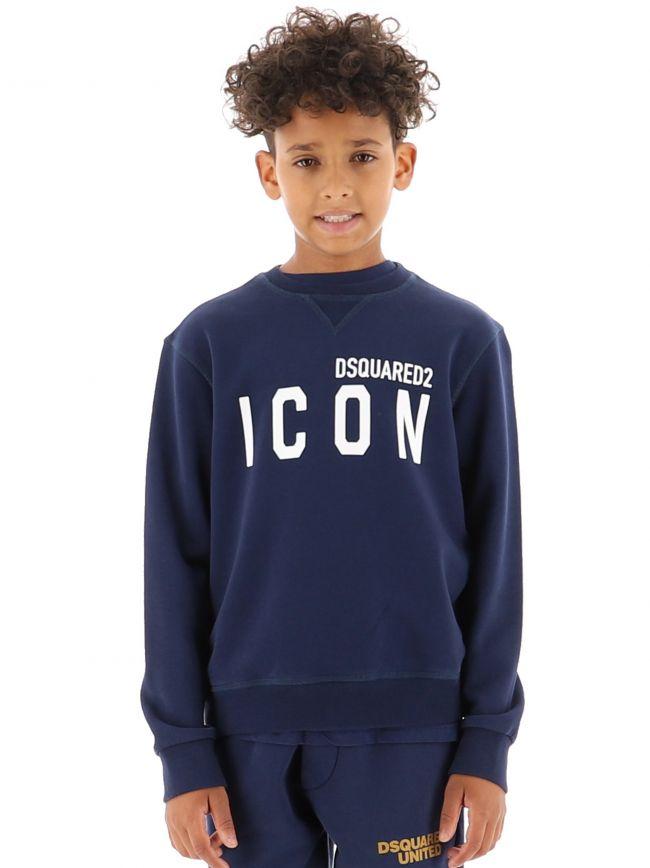 Navy Icon Sweatshirt