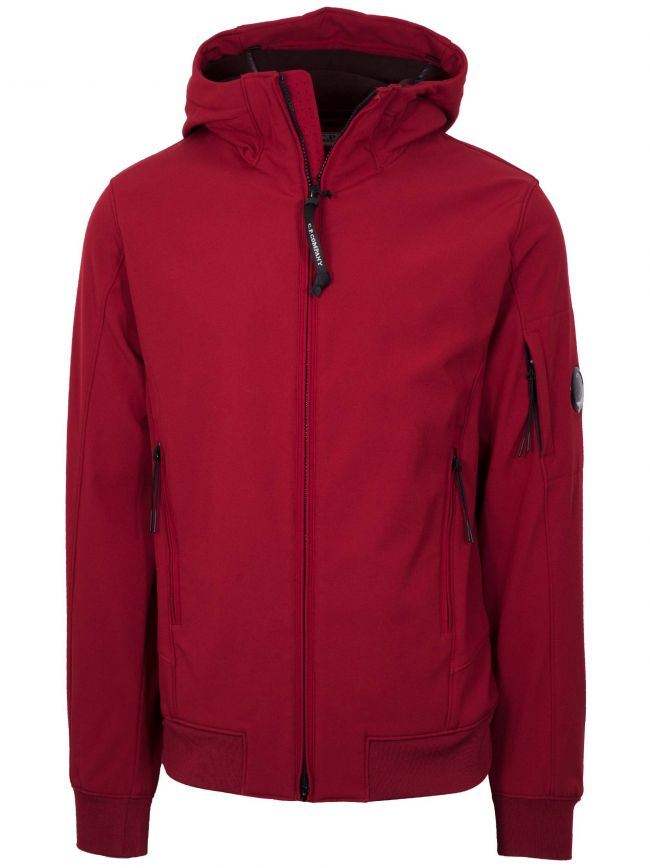 Red Soft Shell Lens Jacket