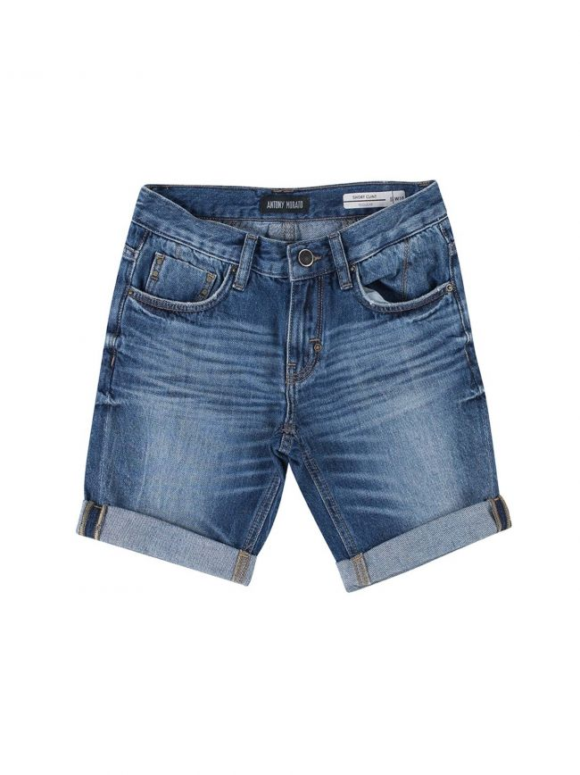 Blue Denim Short