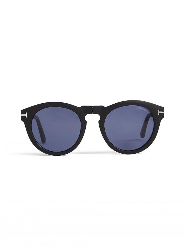 Matte Black Foldable Carter Sunglasses