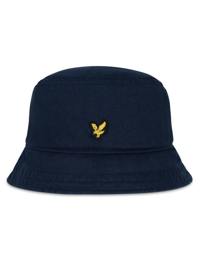 Navy Cotton Twill Bucket Hat