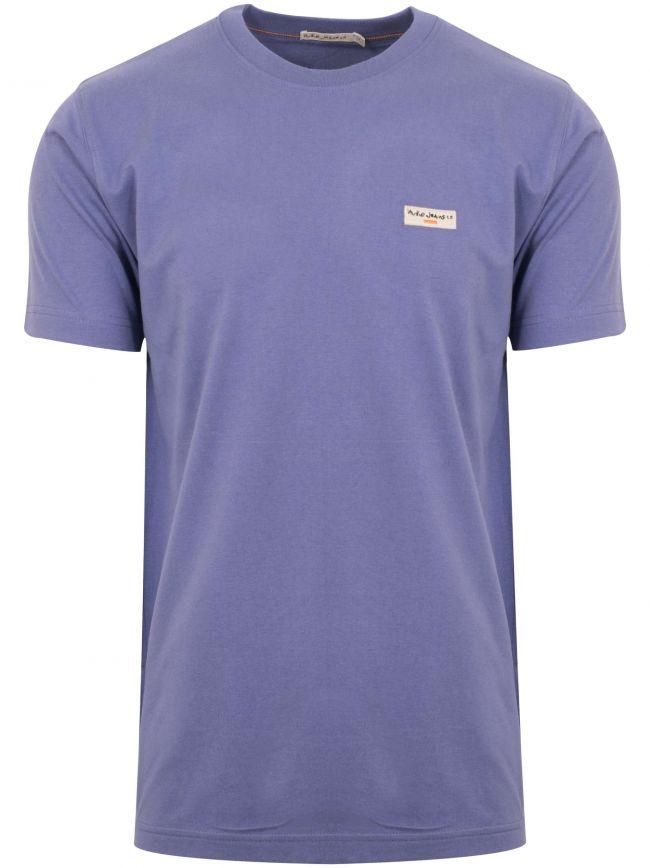 Daniel Lilac Logo T-Shirt