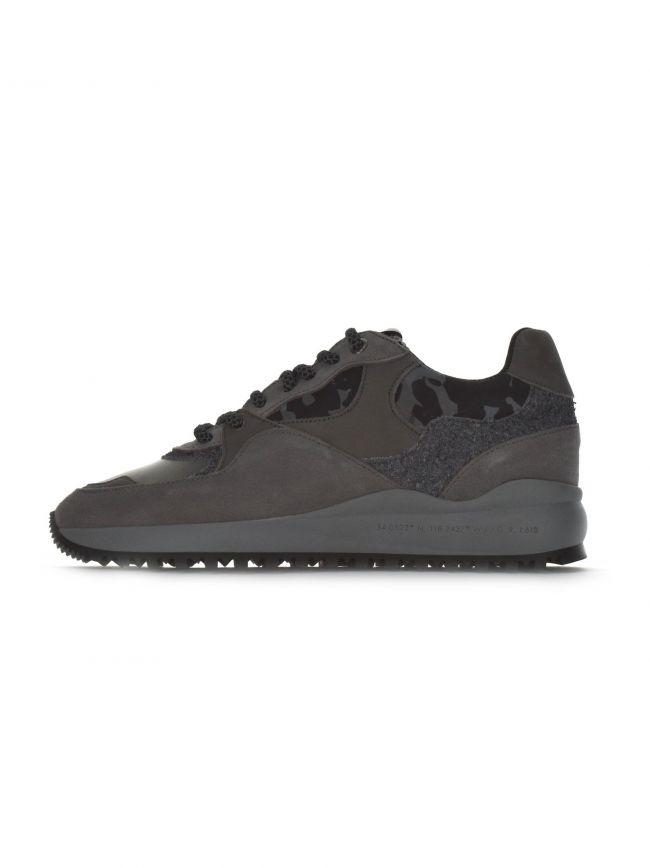Santa Monica Silver Grey Reflective Camo Sneaker