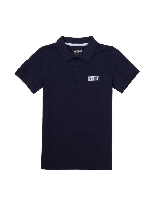 Navy Essential Polo Shirt