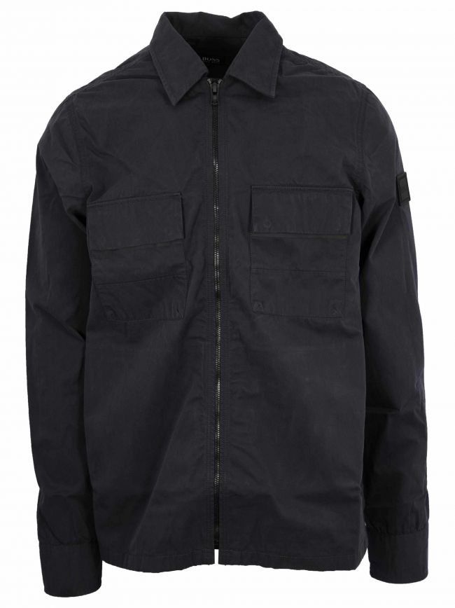 Navy Lovel 2 Zipped Overshirt