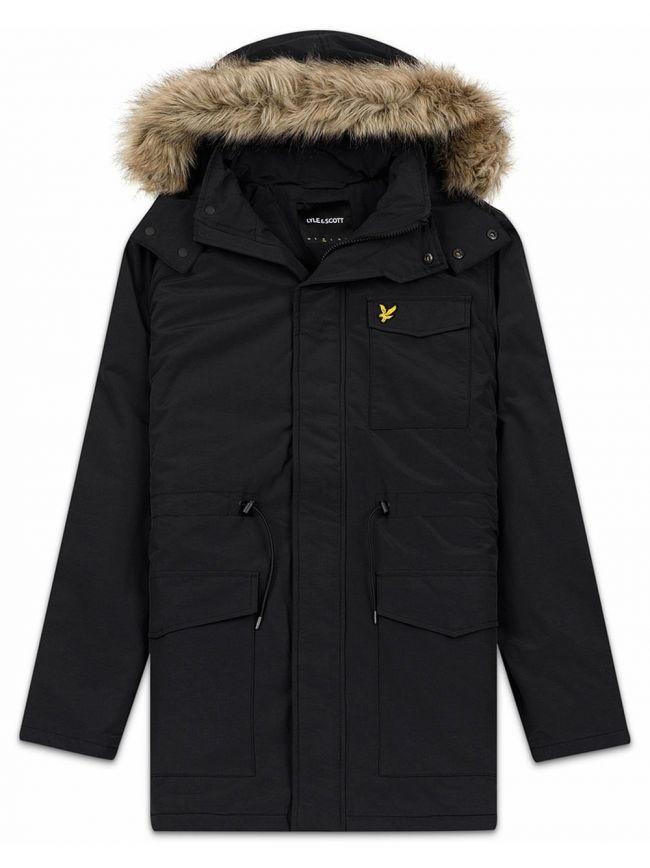 Black Parka Jacket