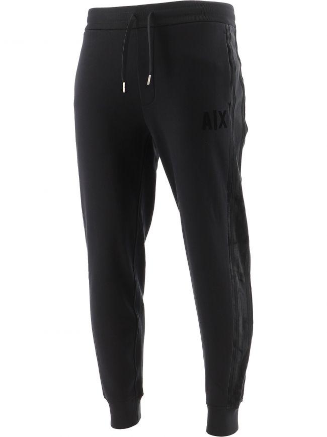 Black Logo Jogging Pant