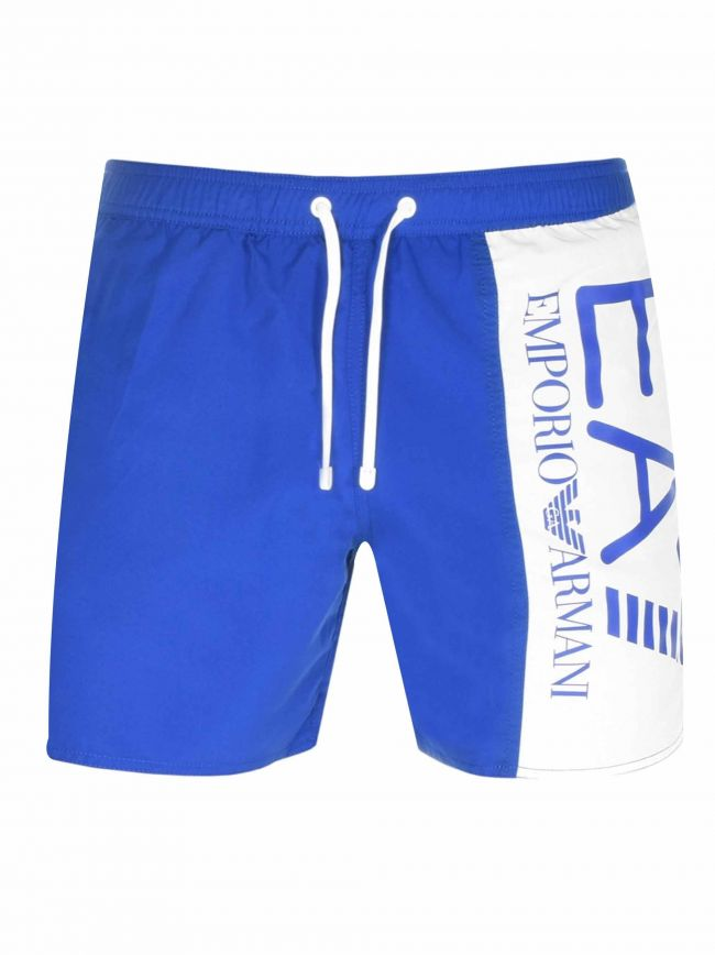 Royal Blue Logo Swim Short