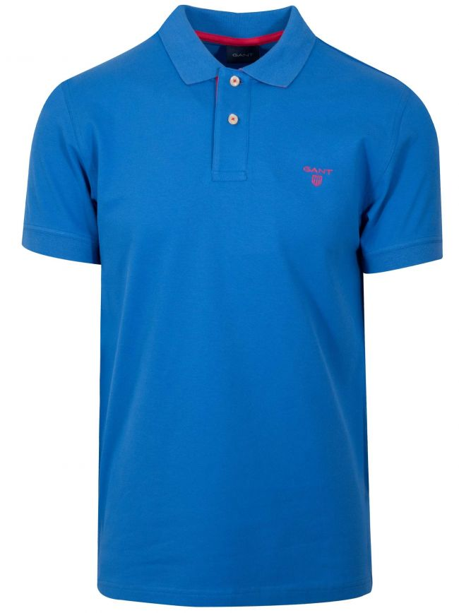 Lake Blue Polo Shirt