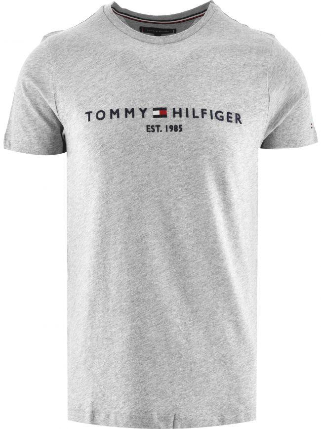Grey Core Tommy Logo T-Shirt