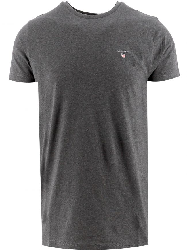 Grey Classic Crew Neck T-Shirt