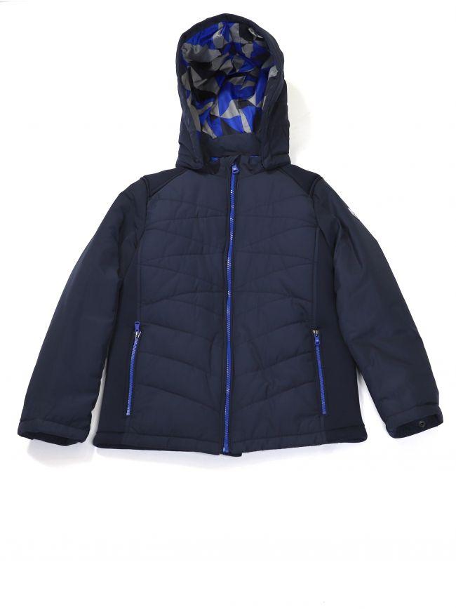 Armani Kids Navy Hooded Jacket