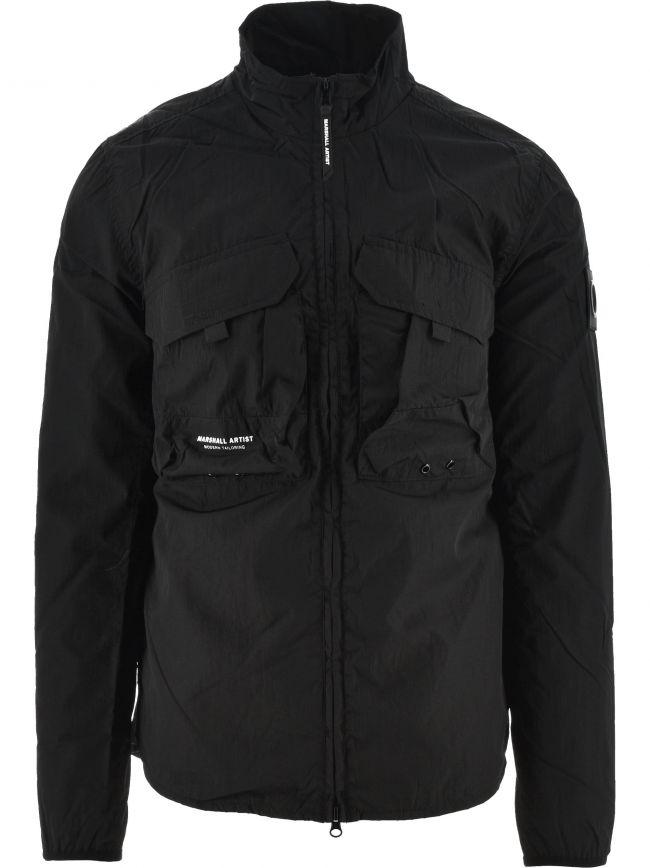 Black Acier MA-2 420 Overshirt