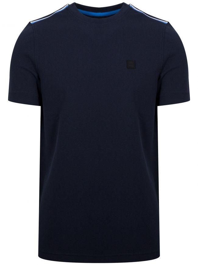 Tomcat Navy Pique T-Shirt