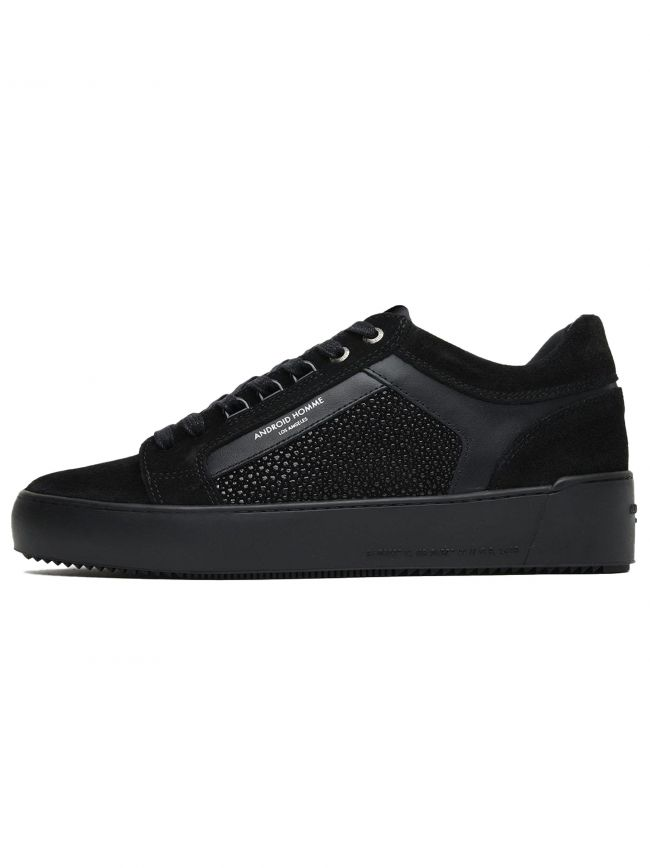 Carbon Black Stingray Suede Venice Sneaker