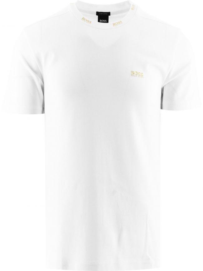 White Tee Gold 1 T-Shirt