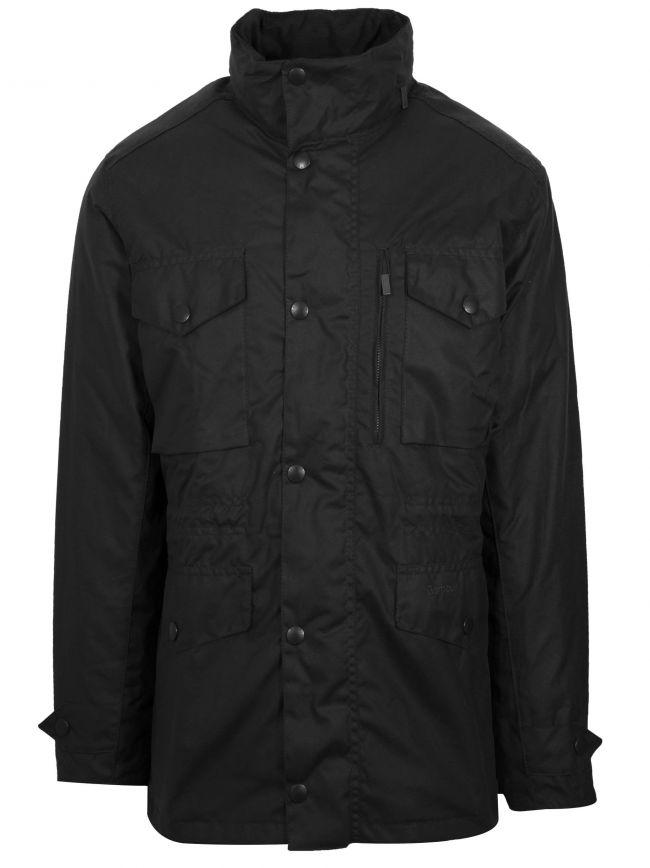 Black Sapper Waxed Jacket
