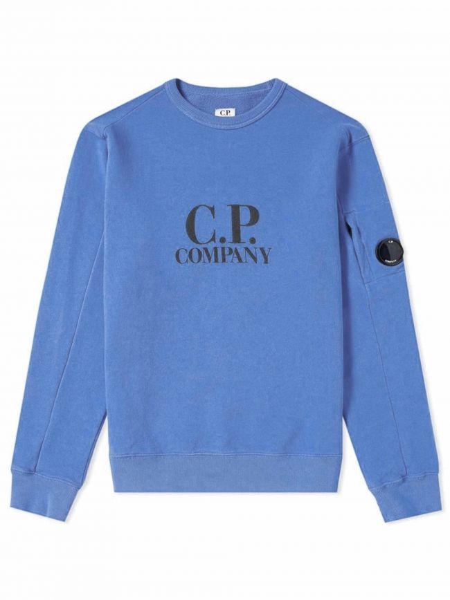Sky Blue Lens Fleece Sweatshirt