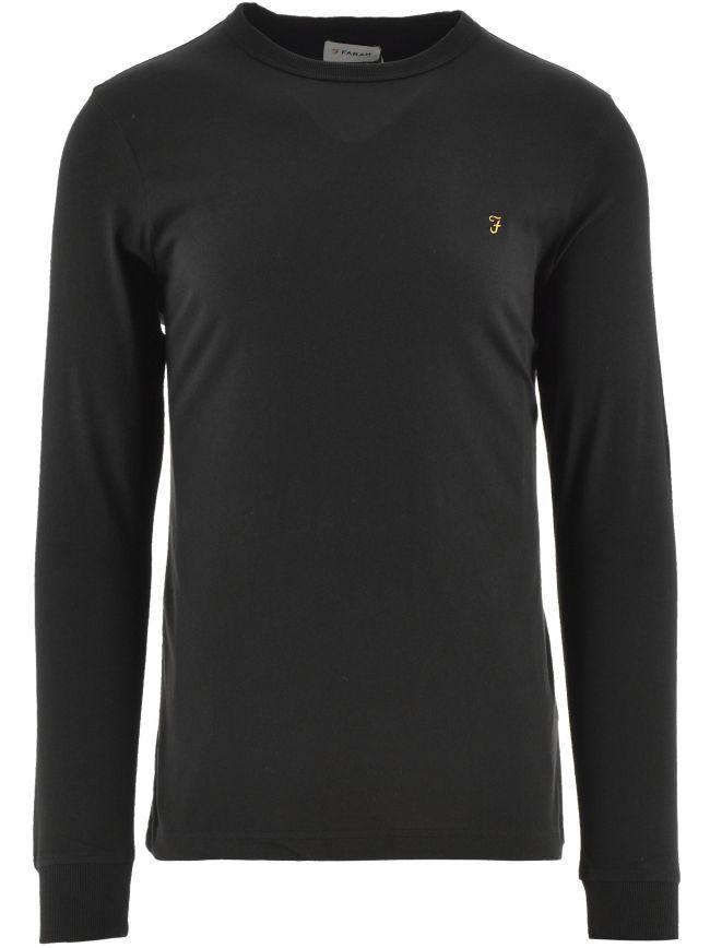 Black Worthington Long Sleeve T Shirt