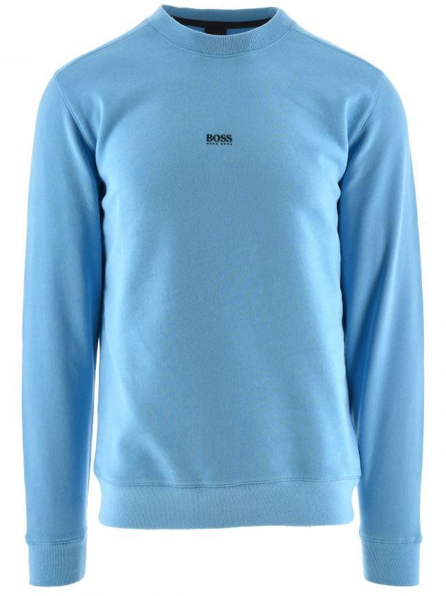 Blue Relaxed Fit Weevo Sweatshirt