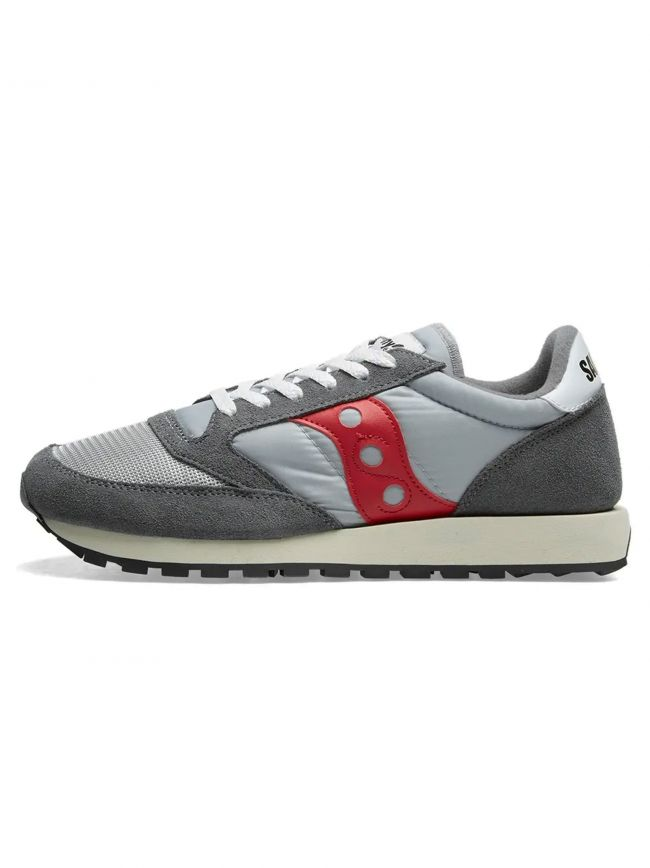Grey & Red Jazz Original Vintage Sneaker