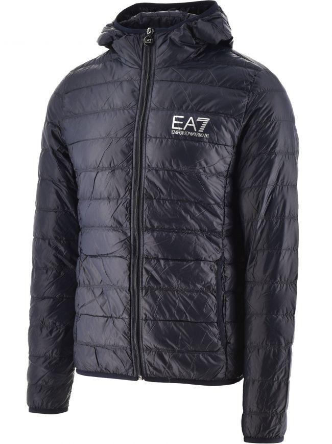 Navy Down Slim Fit Jacket