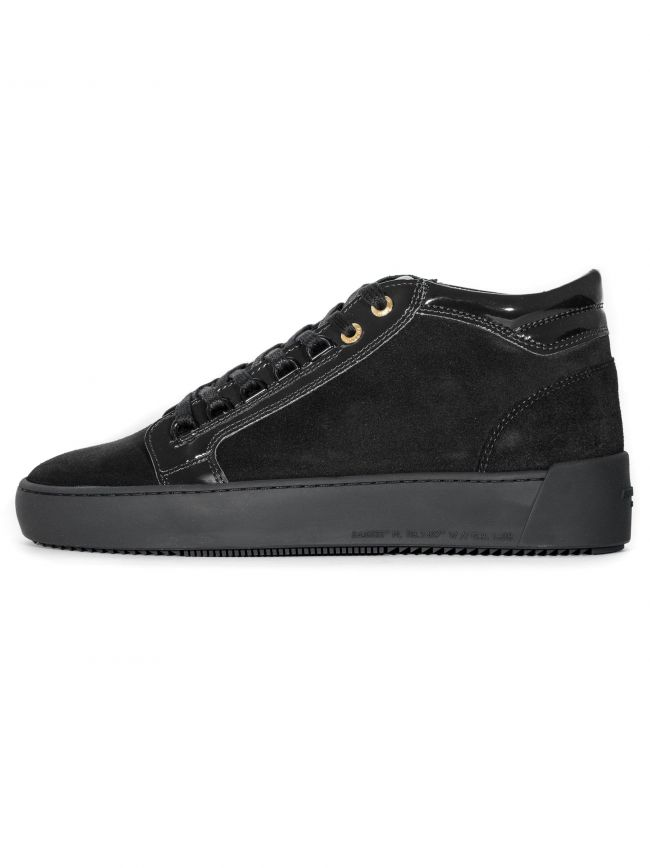 Black Propulsion Mid Sneaker