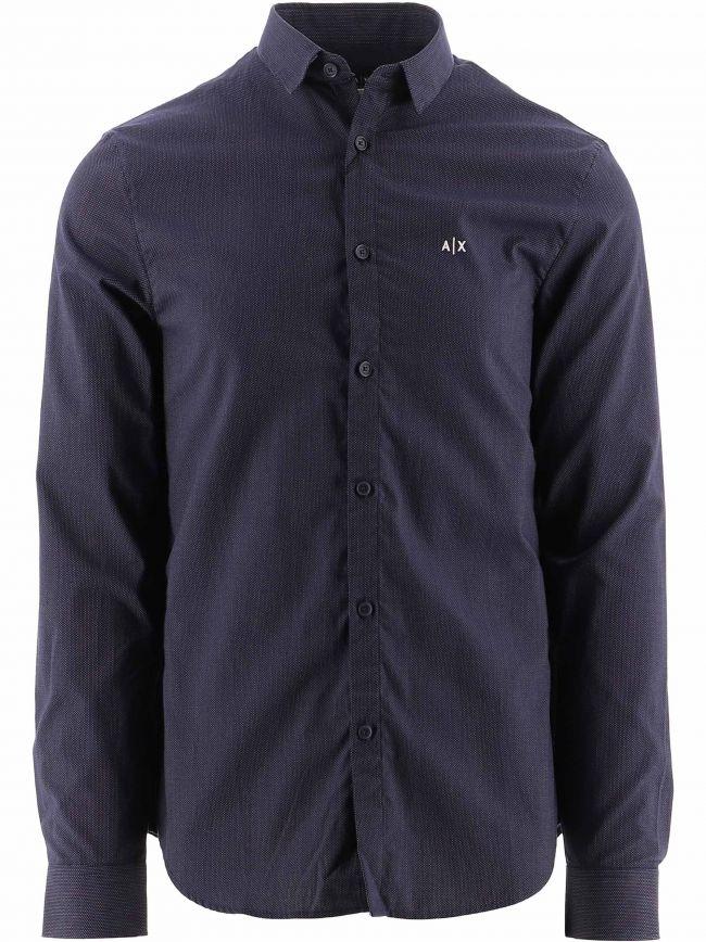 Blue Regular Fit Shirt