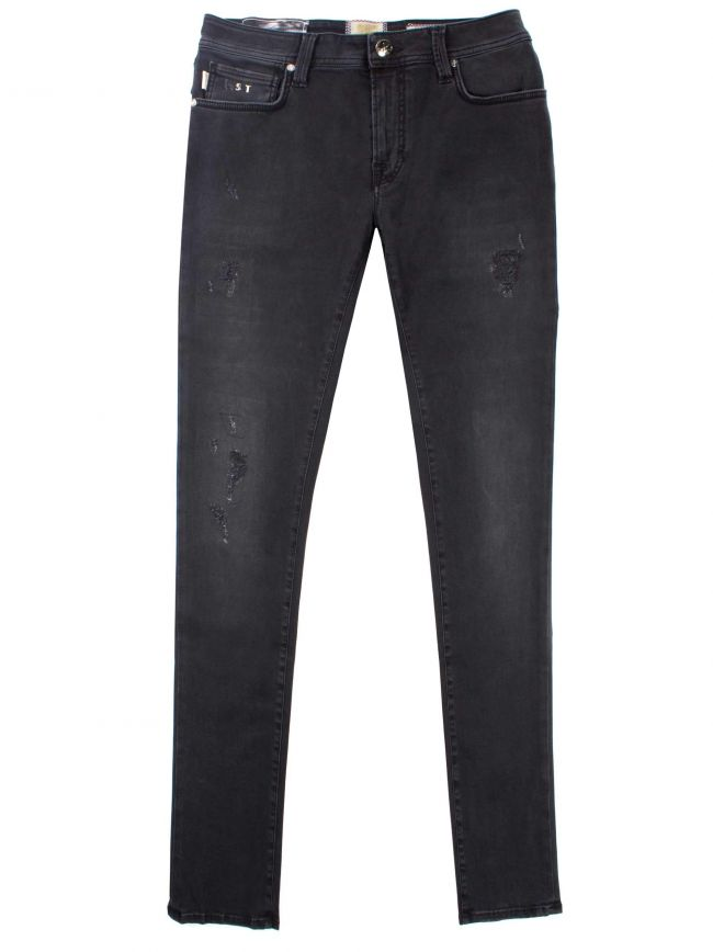 Denim Black Superstretch 24.7 Leonardo Jean