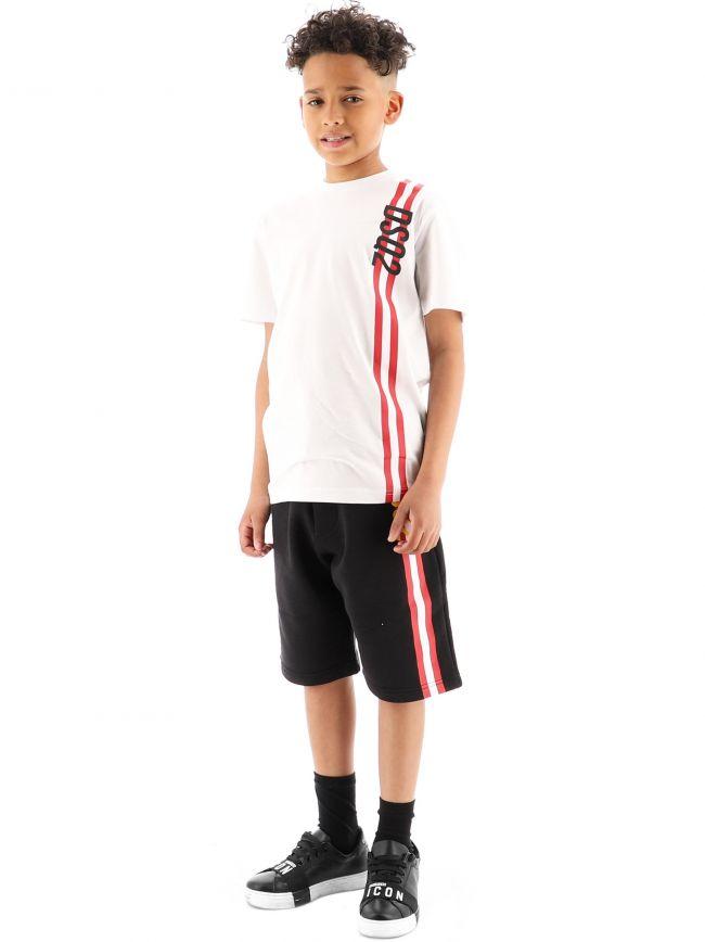 DSQUARED2 Kids White Relax T-Shirt