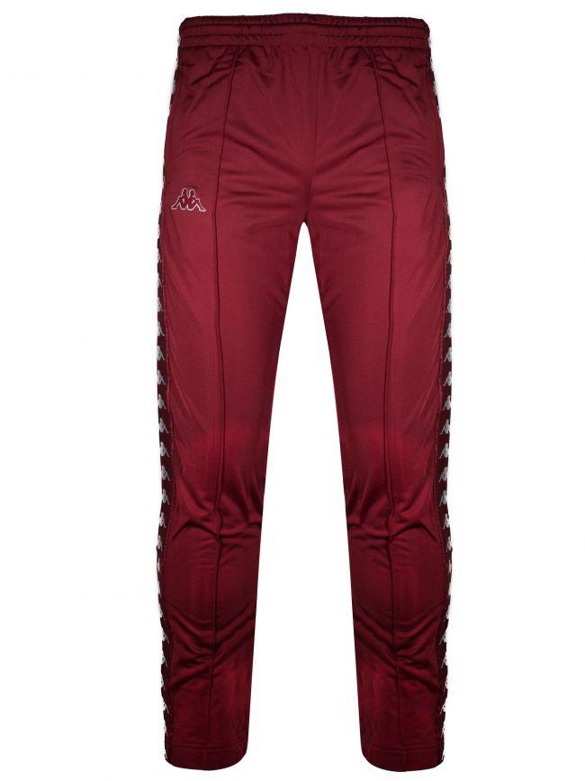 Red Bordeaux Banda Track Pant Slim