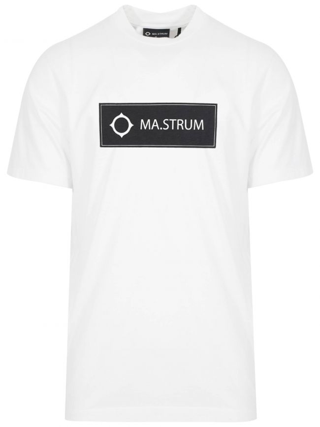 White Icon Box Logo T-Shirt