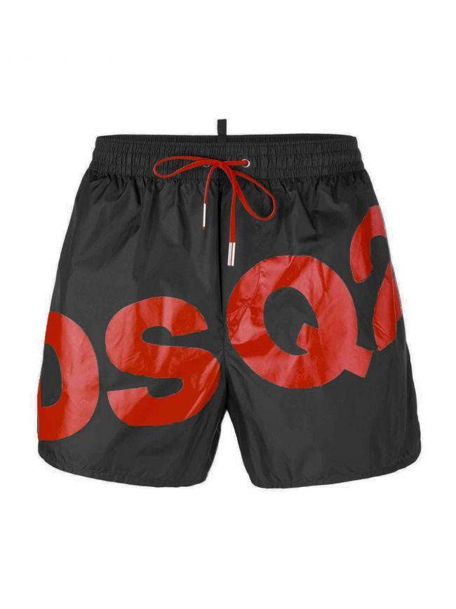 DSQ2 Black Short Swim Shorts