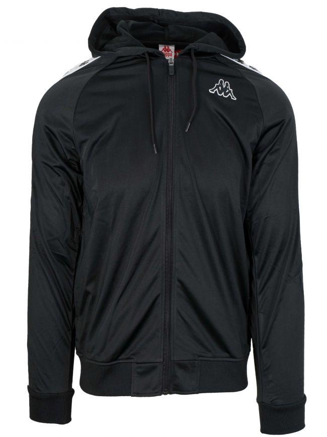 Black 222 Banda Hooded Sweatshirt
