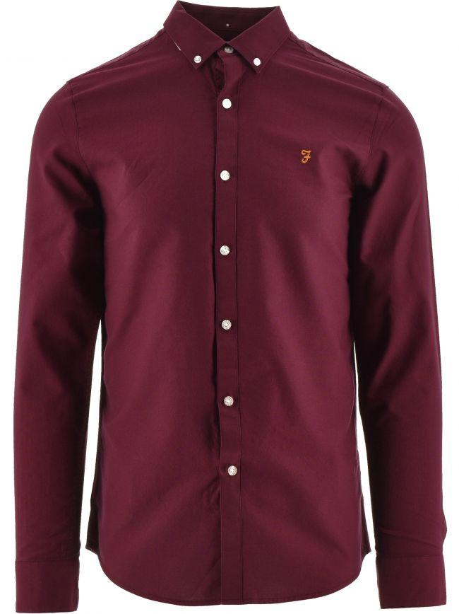 Maroon Brewer Shirt