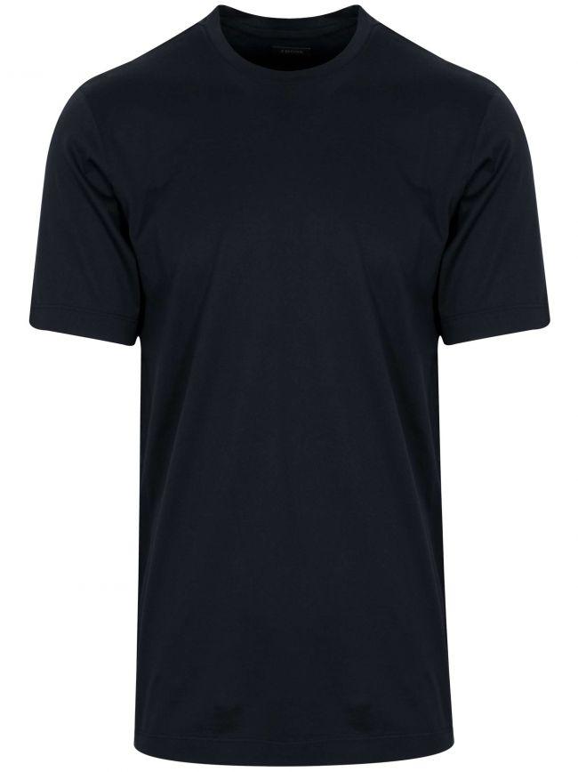 Navy Plain T-Shirt
